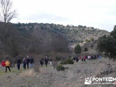 Senderismo Segovia - Riberas de los ríos Pirón y Viejo; agencias de viajes para grupos; rio bidaso